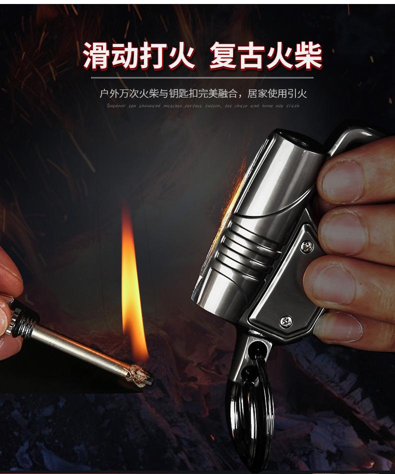 Многофункциональный портативный брелок с лампой подвесная Пряжка