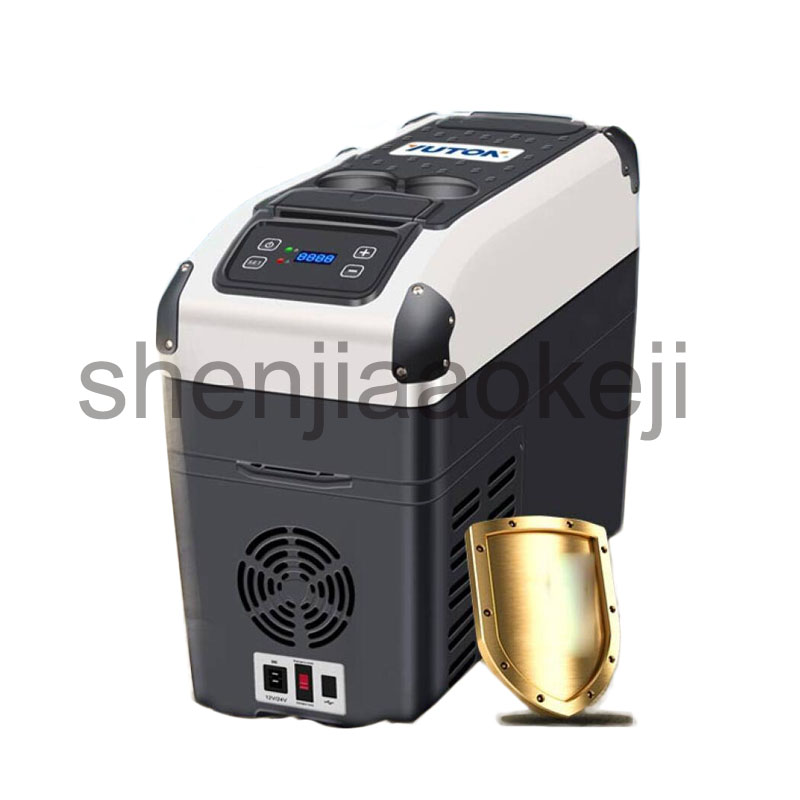 Fridges Freezers Car Compressor Refrigerator 12V Car Dual-use Large Capacity Refrigeration Compressor Refrigerator 1PC