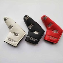 Brand New Master Bunny Edition Golf Cover Golf Head Covers for Putter PU Leather Golf Putter Head Covers EMS Free Shipping
