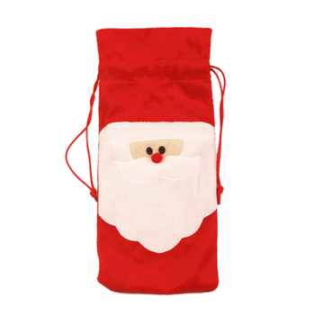 New Set of 10 Wine Bottle Bags Perfect for Christmas Wine Gifts and Other perfect Xmas Party Decor