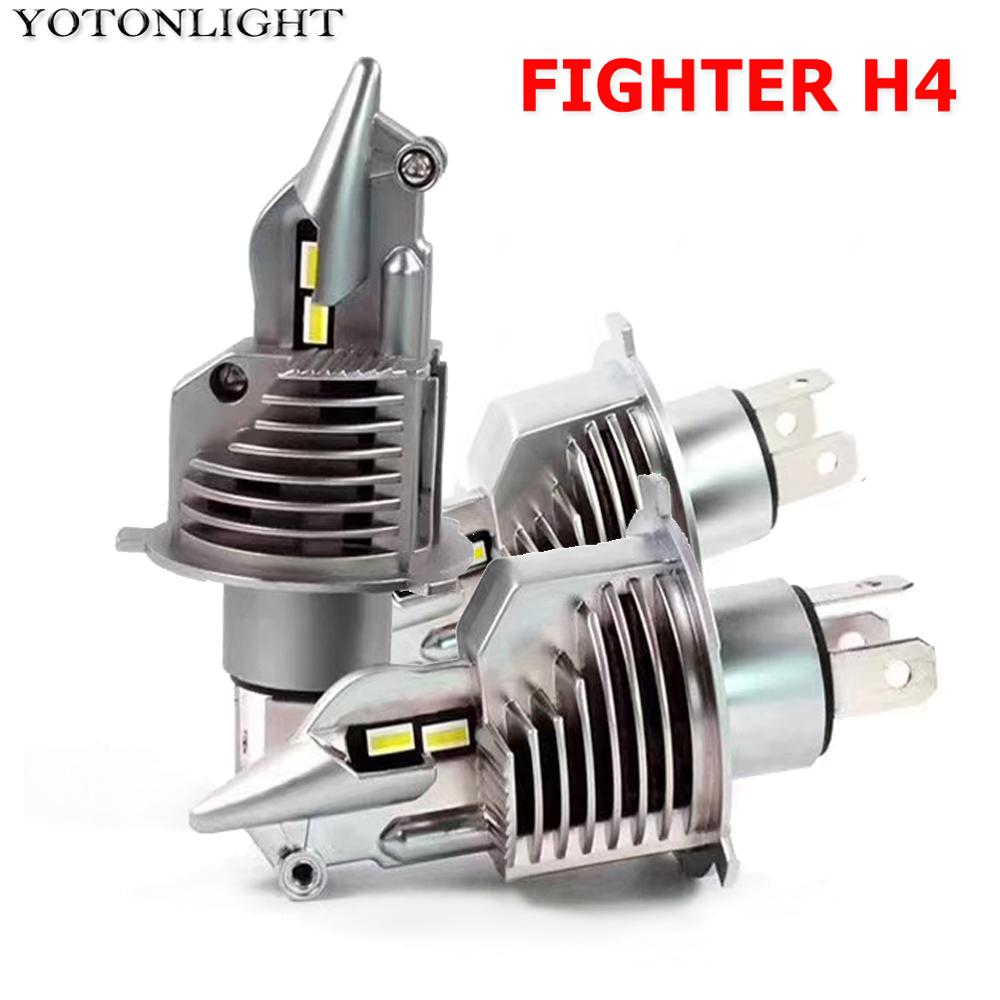 YOTONLIGHT 1:1 Design H4 LED Headlight Bulbs H11 H3 Led Lamp H7 Led H1 9006 Hb4 9005 Hb3 H16 H9 H8 9012 100w 15000LM 6500K White