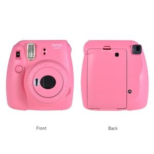 Image 2 - חדש Fujifilm InstaxMini 9 מתנה חינם עבור פולארויד InstantPhoto מצלמה FilmPhoto Camerain 5 צבעים מיידי photocamera