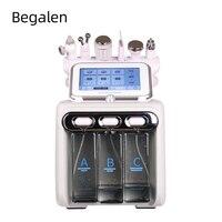 6 in 1 H2 O2 Hydra Facial Dermabrasion Hydro Microdermabrasion Aqua Peeling Vacuum Skin Cleaning Water Aqua Oxygen Spray Device