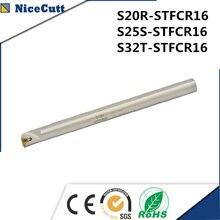 선반 홀더 내부 선삭 공구 홀더 TCMT 인서트 선반 공구 홀더 용 S20R/S25S/S32T STFCR16 무료 배송