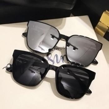 2021 Classic Simple Cat Eye Sunglasses Women Luxury Plastic Sun Glasses Classic Retro Lunette De Soleil Femme UV400 gm retro wood sunglasses men polarized wooden frame glasses women shades uv400 lunette de soleil homme femme s1610l