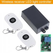 AC220V RF Wireless Mini Switch Relay Receiver Remote Controller for Light Switch and Electrical Equipment with Two Remote стоимость