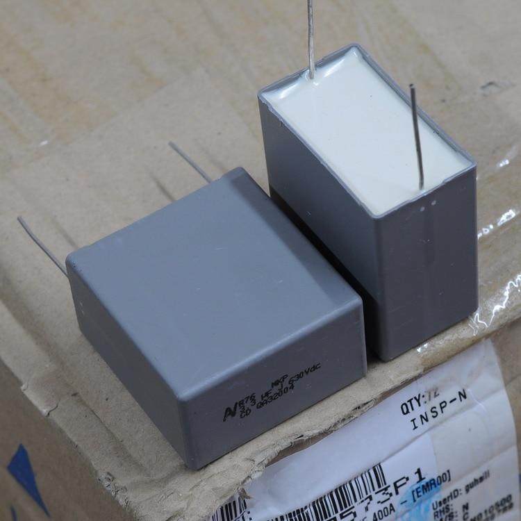 2 pçs frete grátis itália av r76 mkp eletrodeless filme de cobre capacitor 630 v 3.3uf j 335 5% p38