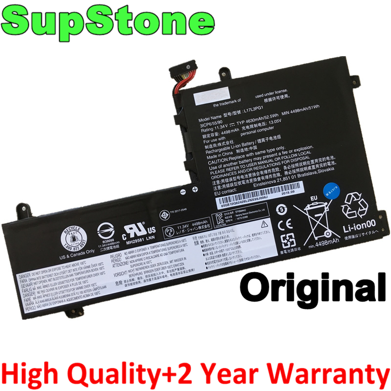 SupStone Genuine Original L17C3PG1 L17L3PG1 L17M3PG1 L17M3PG3 Laptop Battery For Lenovo Legion Y530 Y530-15ICH Y7000 Y7000P