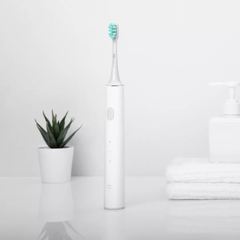 Original Xiaomi Mijia Sonic Electric Toothbrush Long Battery Life Mi T300 Tooth Brush High Frequency Vibration Magnetic Motor