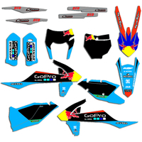 Motorcycle Team Graphic & Backgrounds Decal Sticker Kits for KTM EXC EXCF XCW 2017 2018 2019 SX SXF XC XCF 2016 2017 2018
