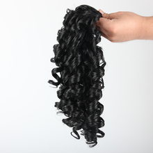 """все цены на Pageup 22"""" Long Curly Clip In Hair Tail False Hair Ponytail Hairpiece With Hairpins Synthetic Hair Ponytail Hair Extension"""
