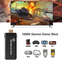 Powkiddy PK-05 64GB Game Console 10000 VideoGames Player 4K TV HDMI Stick Handheld Wireless Controller