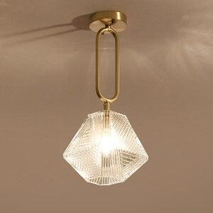 Image 1 - הגעה חדשה LED תליון אורות מנורת מודרני בית תאורה מקורה מתקן זהב אור AC110 220V קפה חדר תליית מנורת בר אור