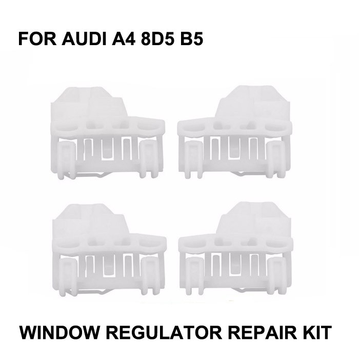 CAR WINDOW FOR AUDI A4 B5 WINDOW REGULATOR REPAIR KIT FRONT-LEFT/RIGHT 94-01