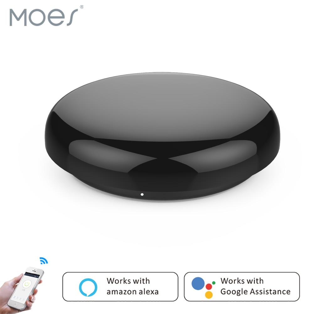 Smart IR Controller Smart Home Blaster Infrared Wireless Remote Control Via Smart Life Tuya APP Work With Alexa Google Home Etc.