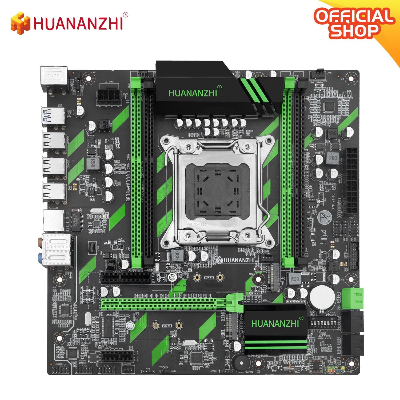 Материнская плата HUANANZHI X79 ZD3 X79, LGA2011, SATA3, USB3.0, PCI-E, 16X, NVME, NGFF M.2 SSD, поддержка REG ECC RAM, Xeon E5, C2/V1/V2CPU