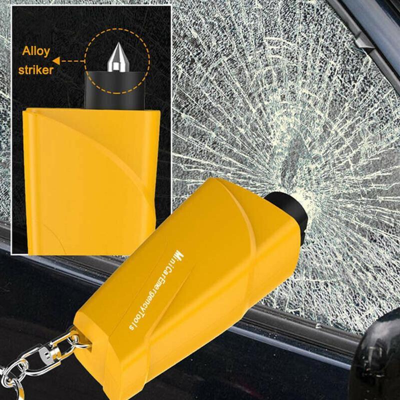 Mini Emergency Escape Hammer Pocket Safety Auto Car Window Glass Breaker Keychain Rescue Tool Safety Glass Breaker|Auto Glass| |  - title=