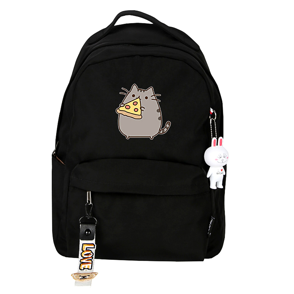 Backpack Rucksack-Book Knapsack Laptop Comics School-Bags Shoulder Crossbody Printed