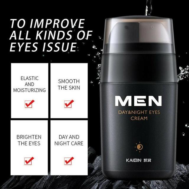 1PC Men Moisturizing Firming Anti Wrinkle Eye Cream Bags Serum Dark Circles Remover Fine Line Eye Cream 5