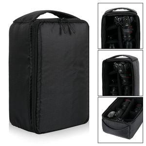 Image 4 - Bolsa de cámara impermeable a prueba de golpes, funda de transporte acolchada para SLR, Canon, Nikon, Sony