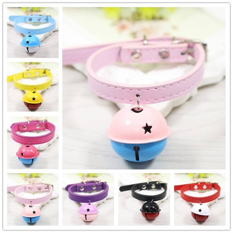 New Style Hot Sales Pet Supplies Baking Varnish Large Bell Pet Collar Large Bell Cat Dog Neck Ring