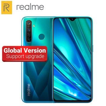 Перейти на Алиэкспресс и купить Глобальная версия Realme 5 Pro мобильный телефон 48MP Quad Camera 4035 мАч 6,3 дюйма 4 ГБ/8 Гб RAM 128 ГБ ROM Snapdragon 712 Восьмиядерный 4G телефон