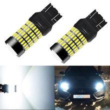 VANSSI 7443 W21/5W Trắng 1400Lm Xe Ô Tô Bóng Đèn LED T20 7443 SRCK LED Hỗ Đậu Xe Đuôi đèn Đỏ DC12 24V 102SMD
