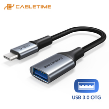 Adapter Cable Usb-C Type-C OTG Female Xiaomi To for Mix3 Huawei N424 5gbps-Transmission