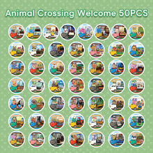 50Pcs Mod-X NFC NTAG215 Card Work For Animal Crossing New Leaf Welcome NFC Printing for Nintend Switch Wii U 3DS Amiibo Card