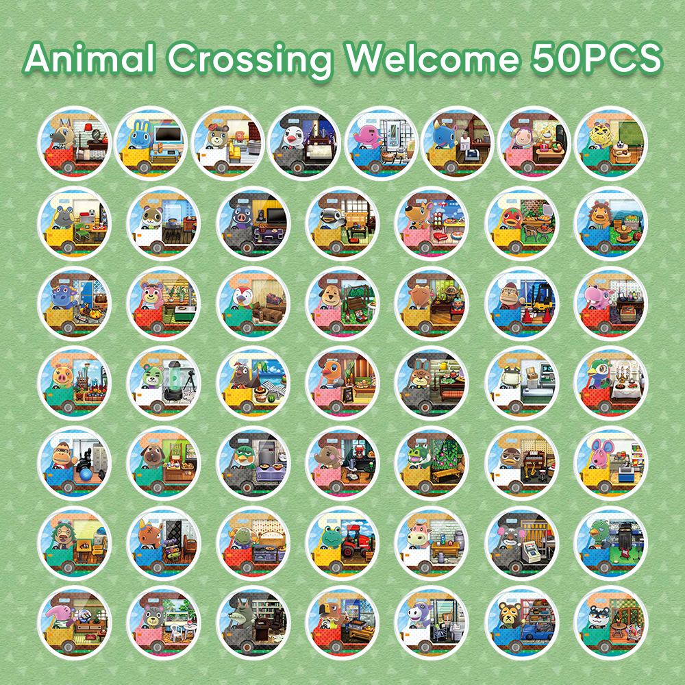 Mod-X <font><b>NFC</b></font> NTAG215 <font><b>Card</b></font> For Animal Crossing New Horizons Zelda Splatoon 2 Mario <font><b>Amiibo</b></font> for Nintend <font><b>Switch</b></font> Wii 3DS <font><b>Amiibo</b></font> <font><b>Card</b></font> image