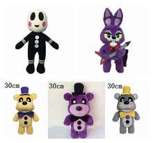 30cm Standing Five Nights At Freddy Fox FNAF Freddy Fazbear Bear Plush Animals Toys For kid