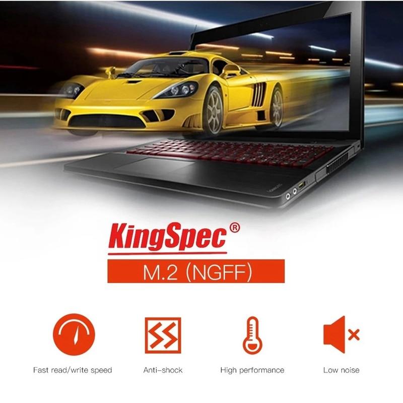 KingSpec 512 ГБ M.2 NGFF 22x80 мм SSD твердотельный накопитель устройства для компьютера ПК ноутбук Настольный компьютер