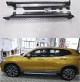 Nouveau X2 F39 alliage d'aluminium + ABS voiture marchepied côté Nerf barre garde pour BMW X2 F39 2018 2019 2020|Barres nerf et marchepieds| |  -