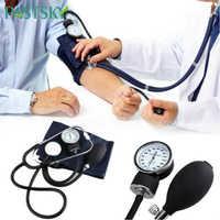 Blood Pressure Monitor Diastolic Sphygmomanometer Doctor Stethoscope Manual Cuff Use Health Measure Systolic home Device