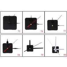 Parts-Kit Clock-Movement-Mechanism-Hands 70-80-Types Wall-Repair-Tools Quartz DIY Silent