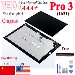 Оригинальный ЖК-дисплей для Microsoft Surface Pro 3 1631 ЖК-дисплей с сенсорным дигитайзером TOM12H20 v1.1 v1.0 LTL120QL01 003 для Pro3 Lcd