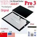 Microsoft surface pro 3 용 lcd 1631 lcd 화면 터치 디지타이저 디스플레이 패널 tom12h20 v1.1 ltl120ql01 003 for pro3