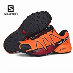 Salomon velocidade cruz 4 cs iv ao ar livre dos homens sapatos esporte confortável masculino speedcross tênis solomon esgrima zapatillas hombre mujer