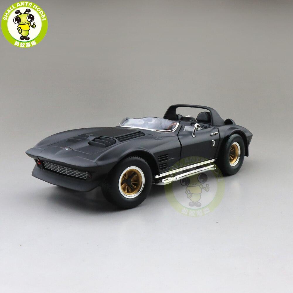 1/18 1964 Chevrolet CORVETTE Grand Sport Road Signature Diecast Model Car Toys Gifts