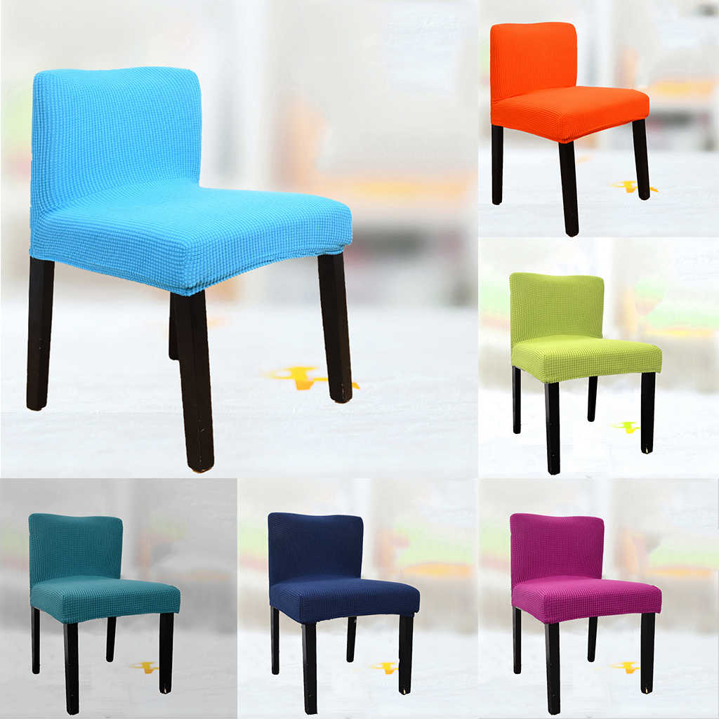 Spandex Stretch Low Short Back Chair Cover Bar Little Stool Cover Aliexpress