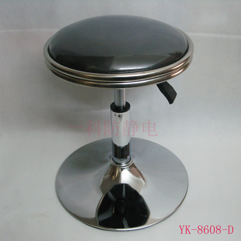 Manufacturers Direct Selling Leather Round Stool/Height Adjustable Chair Guangzhou Manufacturers Wholesale Bar Chair Laboratory