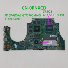 עבור Dell Inspiron 7557 RNXCD 0RNXCD CN 0RNXCD w i7 4720HQ מעבד 960M 4G GPU DA0AM9MB8D0 מחשב נייד האם Mainboard נבדק