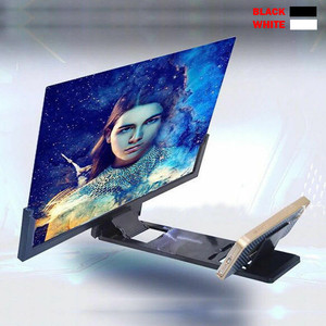 14 inch 3D Enlarged Screen Mobile Phone Amplifier Magnifier Bracket Cellphone Holder