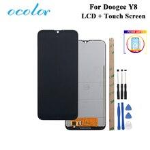 Ocolor Per Doogee Y8 Display LCD e Touch Screen Digitizer + Pellicola di Ricambio Con Strumenti + Adesivo Per Doogee Y8 telefono