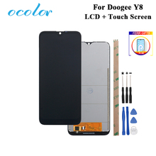 ocolor For Doogee Y8 LCD Display and Touch Screen Digitizer +Film Replacement With Tools +Adhesive For Doogee Y8 Phone