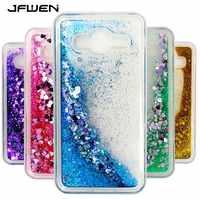 Phone Case For Samsung Galaxy J3 J5 J7 2016 J4 J6 A6 Plus 2018 Case Liquid Glitter For Samsung Galaxy J3 J5 2017 Case Cover