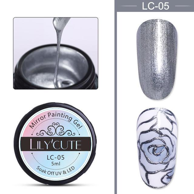 LILYCUTE 5ml Metallic Mirror Gel