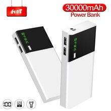 Power Bank 30000mAh USB Type C PD Fast Charging Large Capaci