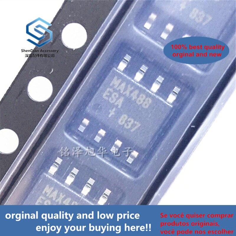2pcs 100% Orginal New MAX488ESA MAX488 SOP8 RS-422 RS-485 Transceiver IC Real Photo