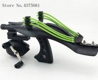 Vissen Slingshot Nauwkeurige Sling Shot met Laser Punt Katapulten Vissen Accessoires Set Krachtige Schieten Slingshot Catapult